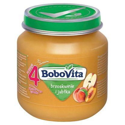 BoboVita Brzoskwinie i jabłka po 4 miesiącu 125 g