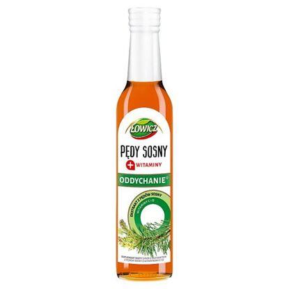 Łowicz Oddychanie Suplement diety syrop z ekstraktem z pędów sosny 250 ml