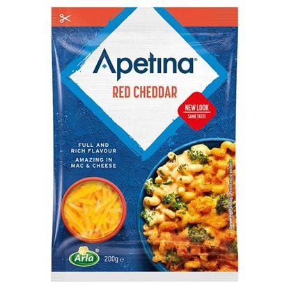 Arla Apetina Ser wiórkowany Red Cheddar 200 g