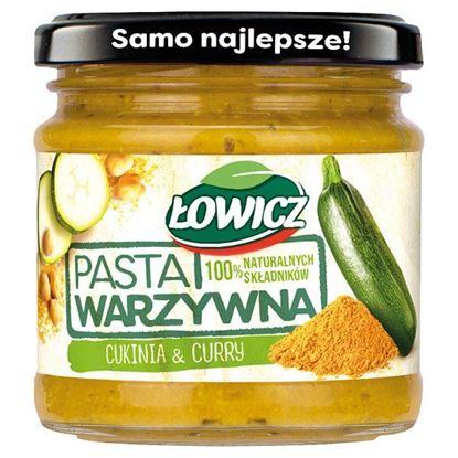 Łowicz Pasta warzywna cukinia & curry 180 g