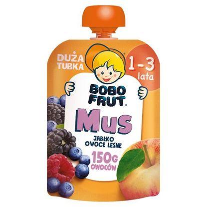 Bobo Frut Mus jabłko owoce leśne dla dzieci 1-3 lata 150 g