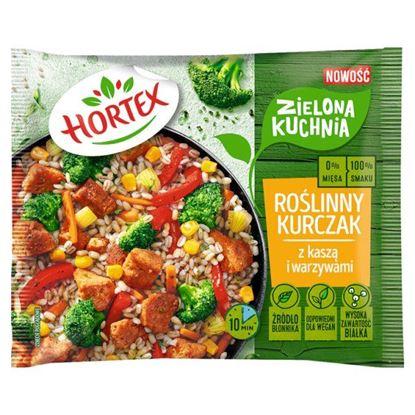 Hortex Zielona kuchnia Roślinny kurczak z kaszą i warzywami 400 g