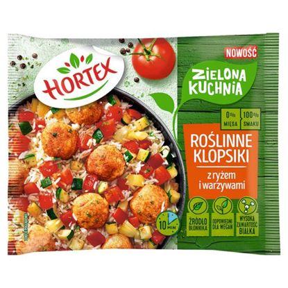 Hortex Zielona kuchnia Roślinne klopsiki z ryżem i warzywami 400 g