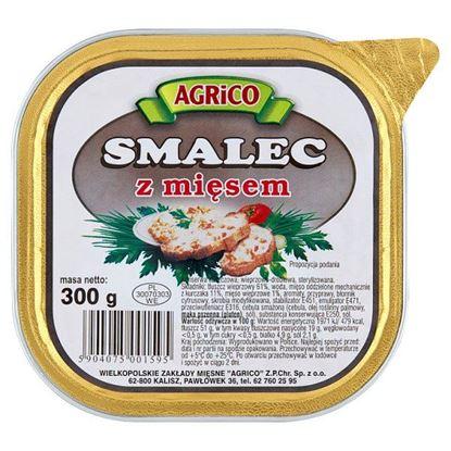 Agrico Smalec z mięsem 300 g