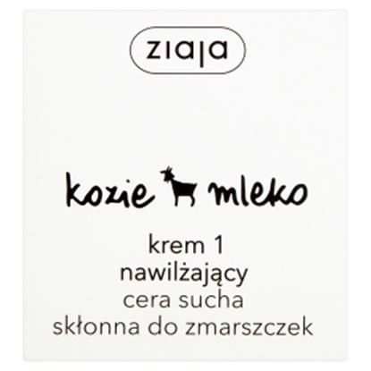 Obrazek Ziaja Kozie mleko Krem 1 nawilżający cera sucha skłonna do zmarszczek 50 ml